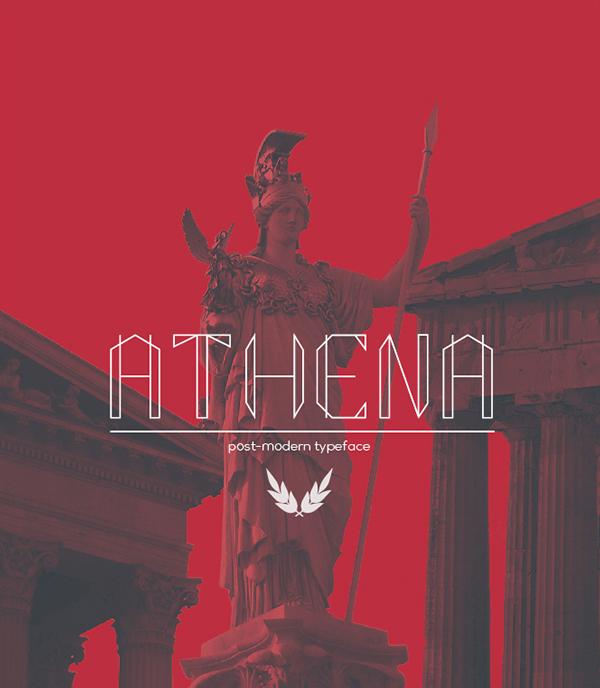 Athena Free Font