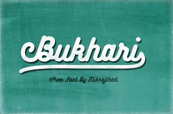 Bukhari Script Free Font