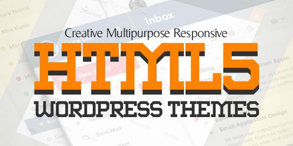 16 New Responsive HTML5 WordPress Themes