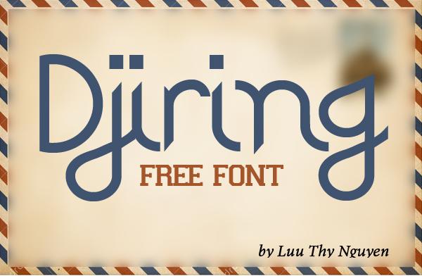 Djiring Free Font