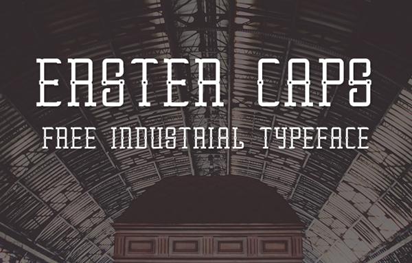 Erster Caps Free Font