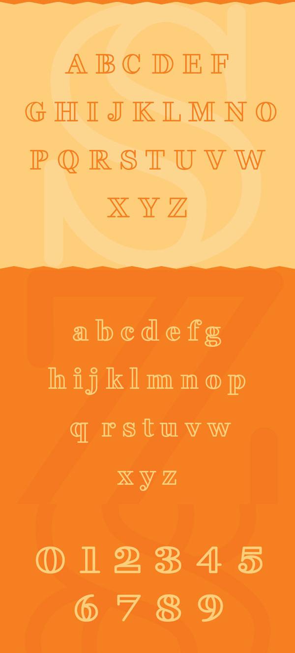 Fakedes Font Letters