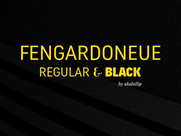 FengardoNeue free font