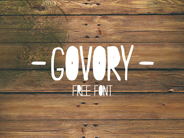 Govory Free Font