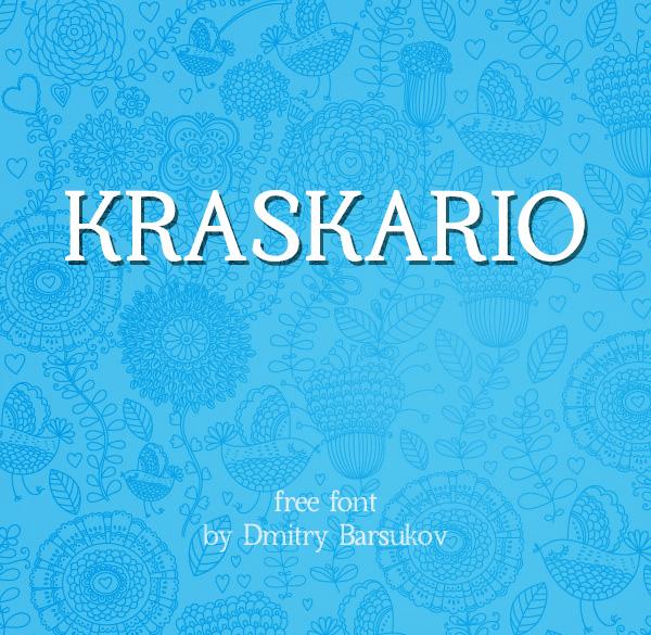 Kraskario free font