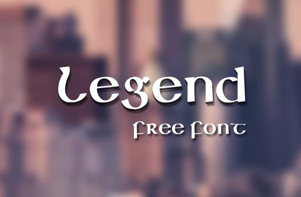 Legend Free Font