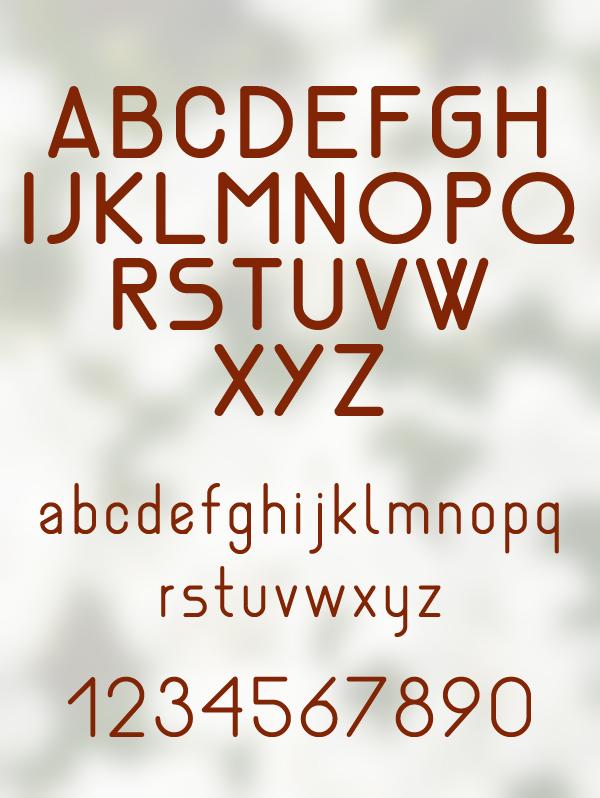 Nemesia Font Letters