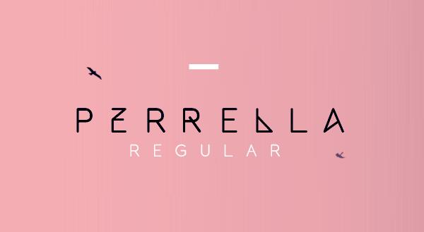 Perrella Free Font