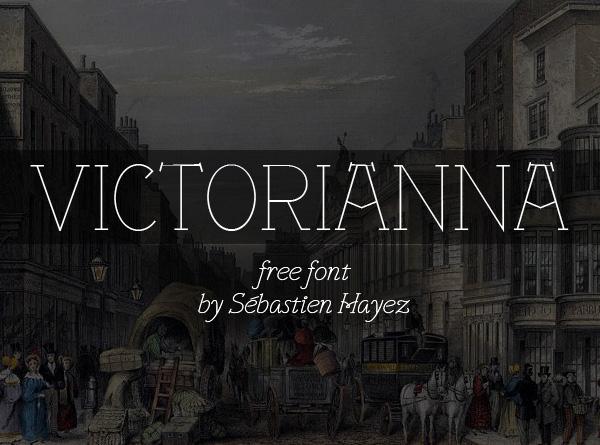 Victorianna free font