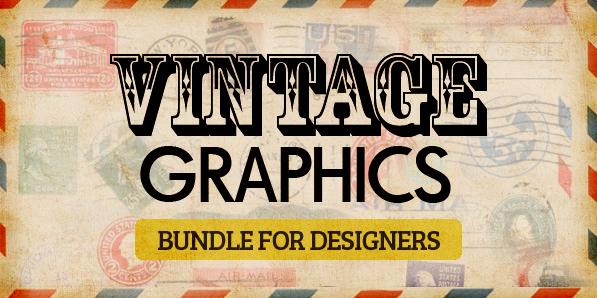 Biggest Vintage Graphics Bundle for Designers