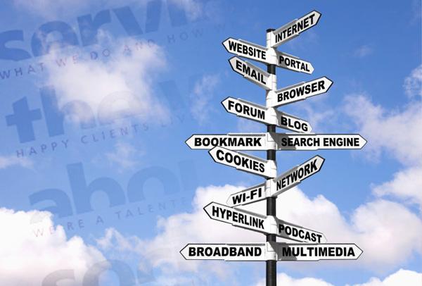Website Text Navigation