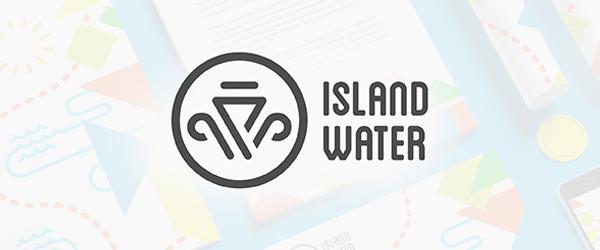 Island Water Logo Design