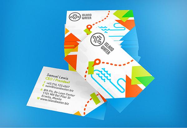 Island Water Business Card