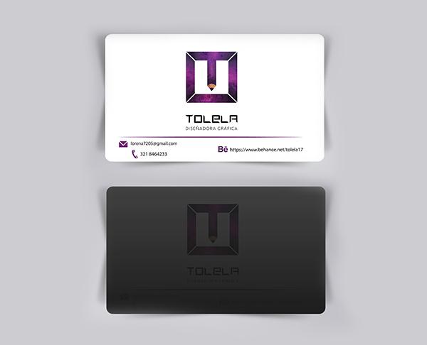 Tolela Personal Branding Business Card