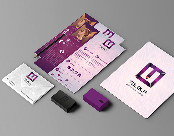 Tolela Personal Branding Stationery Items