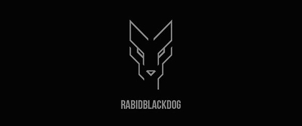 Rabidblackdog Personal Branding Logo Design