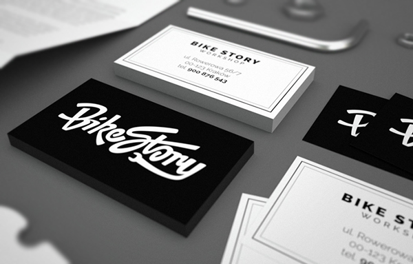 Bike Story Business Card
