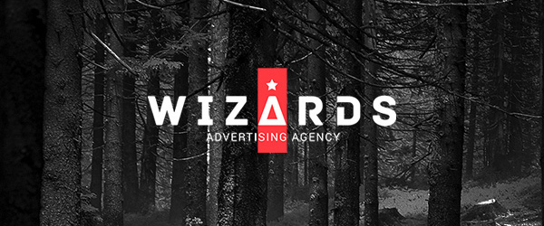 Wizards Agency Logo Design