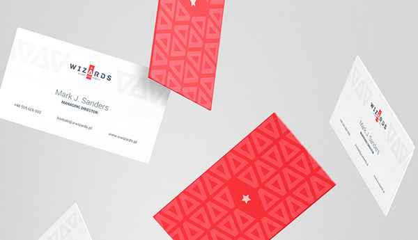 Wizards Agency Business Card