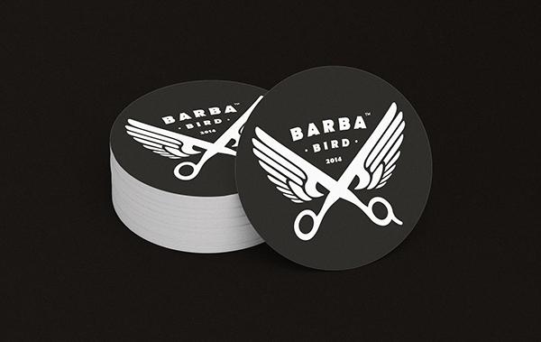 Barba Bird Identity Business Card