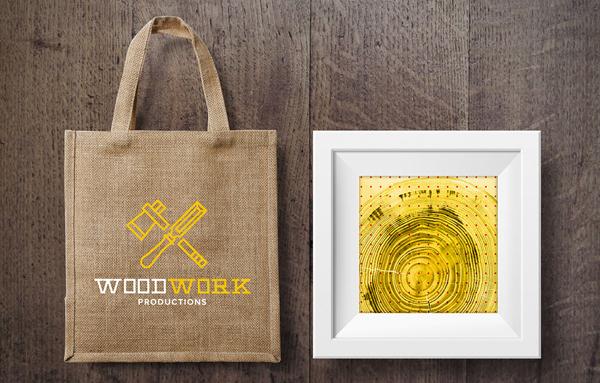 WoodWork  Bag and Frame