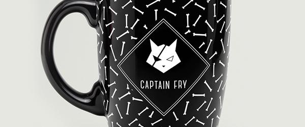 Captain Fry corporate Identity Logo Design