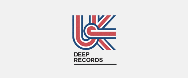 UK Deep Records Logo Design