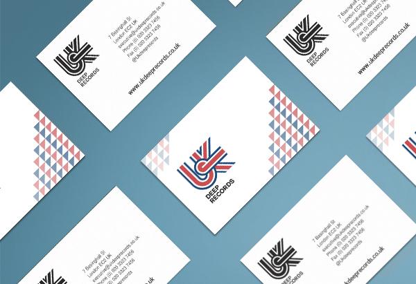 UK Deep Records Business Card