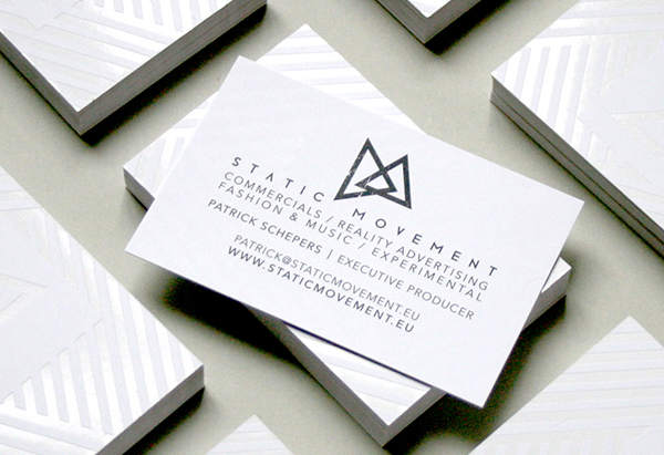 Static Movement Business Card