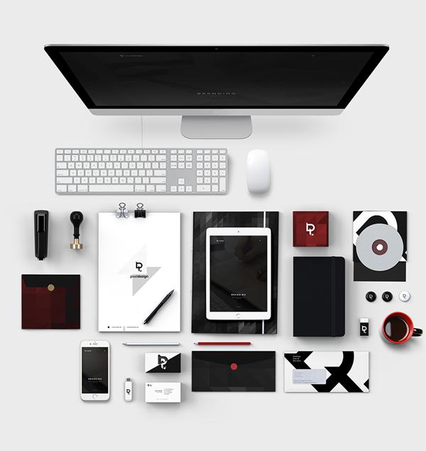 Pixel Design Stationery Items