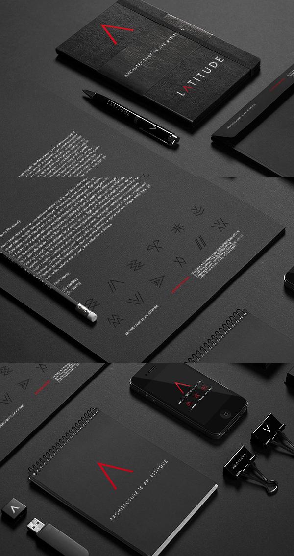 LATITUDE Architecture Brand Stationery Items