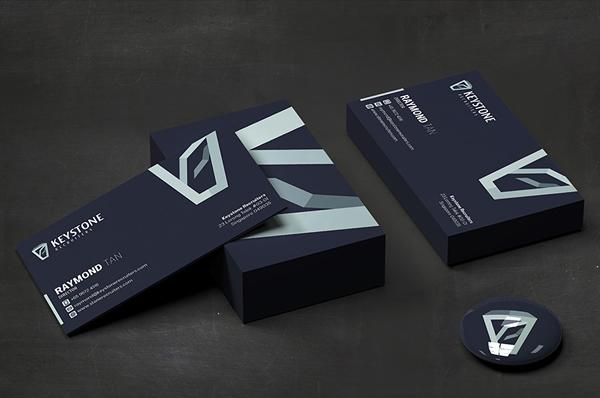 Keystone Recruiters Business Card