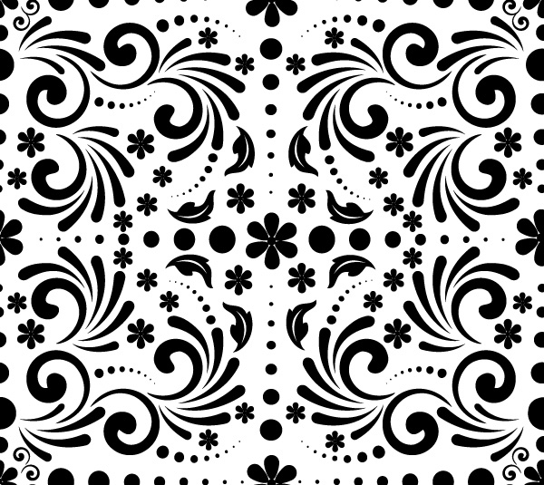 Free Vector Spring Pattern