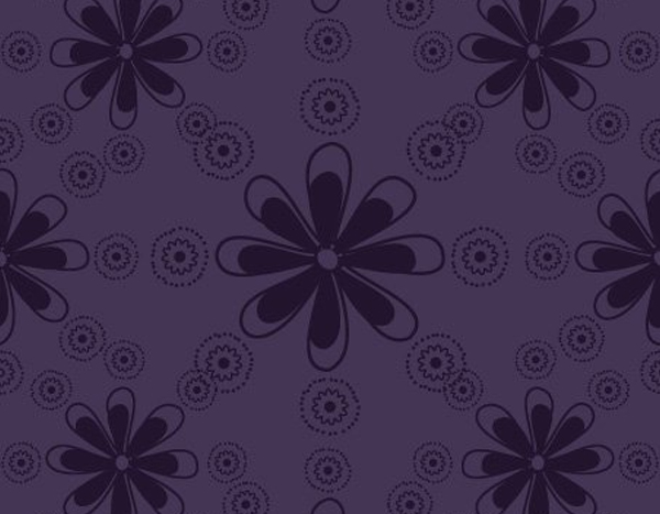 Free Floral Pattern Vector Graphic