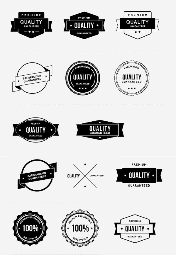 Free Vector & Psd Award Badges