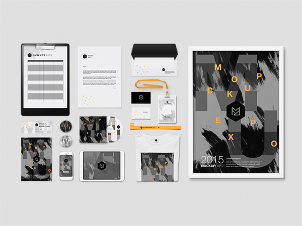 Free Branding Identity Mockup PSD Template
