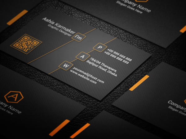 Creativea Business Card PSD Template
