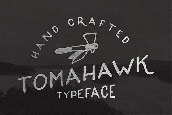 Tomahawk – Vintage Font