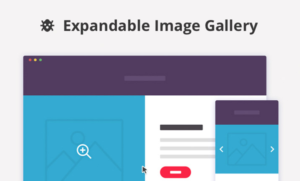 Expandable Image Gallery by CodyHouse