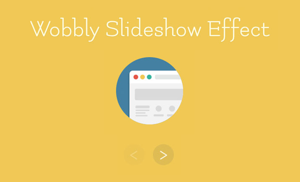 Wobbly Slideshow Effect by Codrops