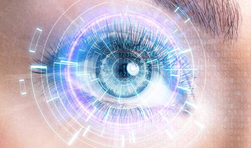 Learn how to create a futuristc eye in Photoshop