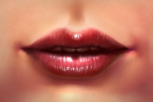 Learn to Paint Beautiful Realistic Lips in Adobe Photoshop