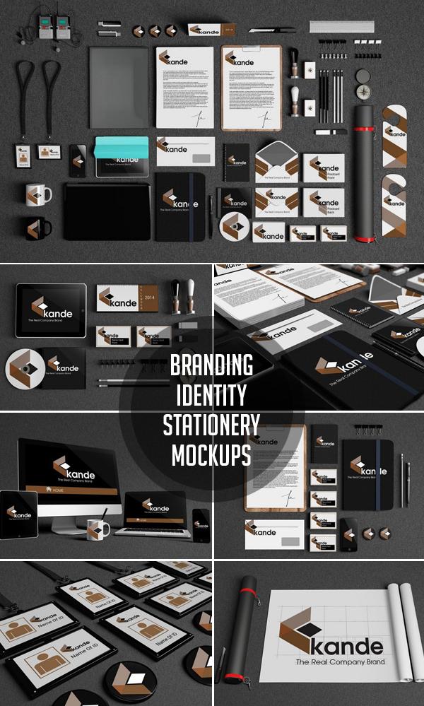 Branding / Identity / Stationery Mockups