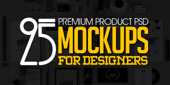 25 New Premium PSD Mockups for Print Design