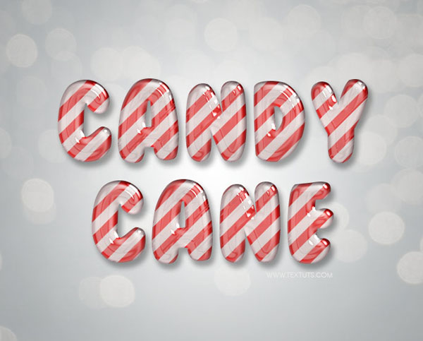 Create a glossy candy text effect in Photoshop