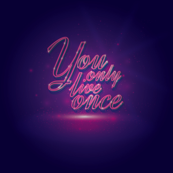 Creating a Glowing Neon Effect in Illustrator