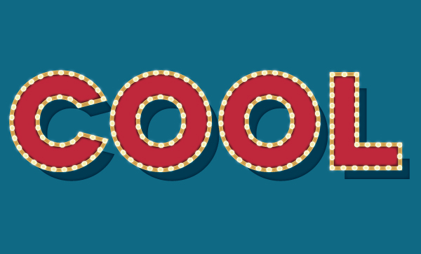 Create a Carnival Text Effect Using Adobe Illustrator's Appearance Panel