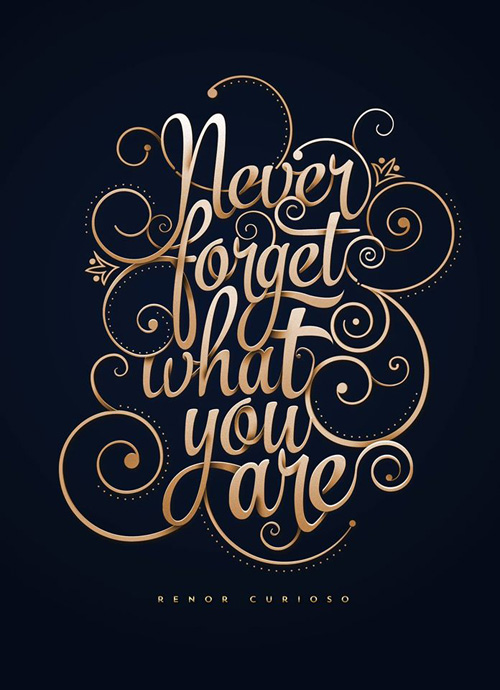 Typography Posters: 30 Motivational and Inspiring Quotes - 12