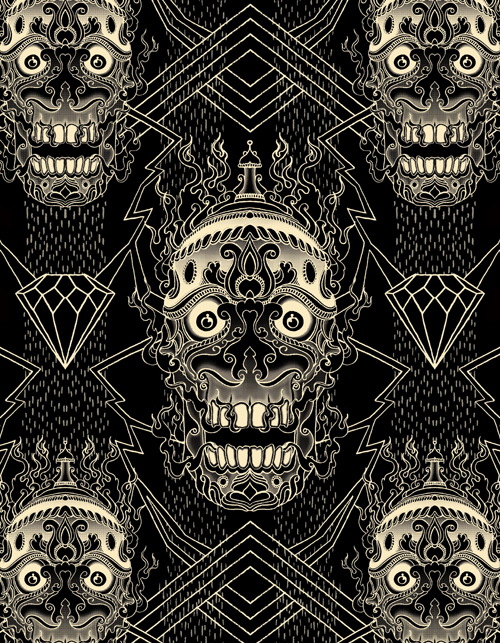 Design Repeating Patterns for T-shirts in Photoshop Tutorial
