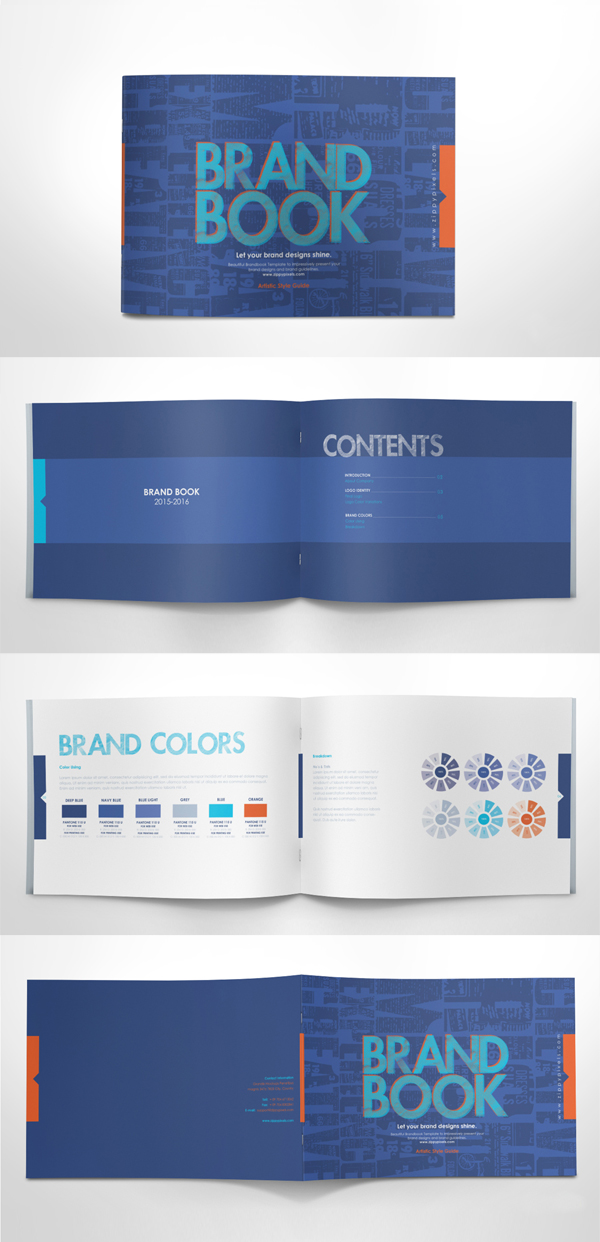 Free Brand Guidelines Template